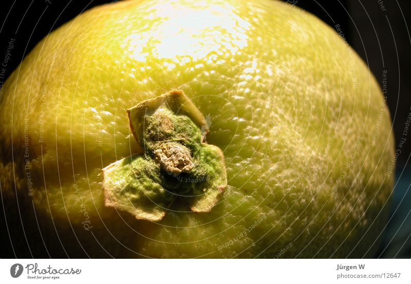 Moon with crater? Pomelo Green Round Sweet Close-up Fruit