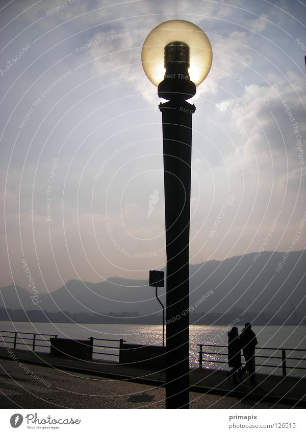 Sun Lamp Lake Together Energy industry To go for a walk Science & Research Street lighting