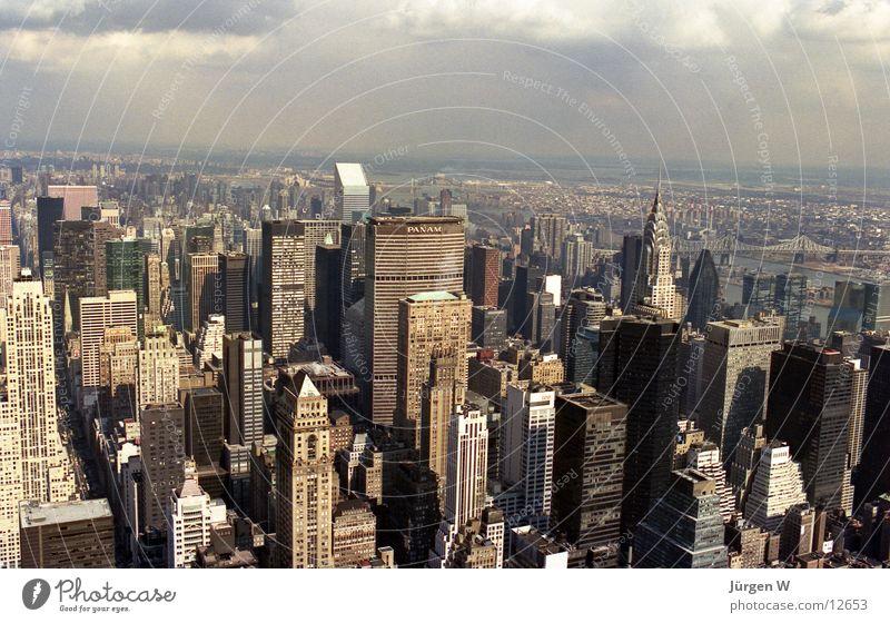 Building High-rise USA New York City North America Chrysler Building