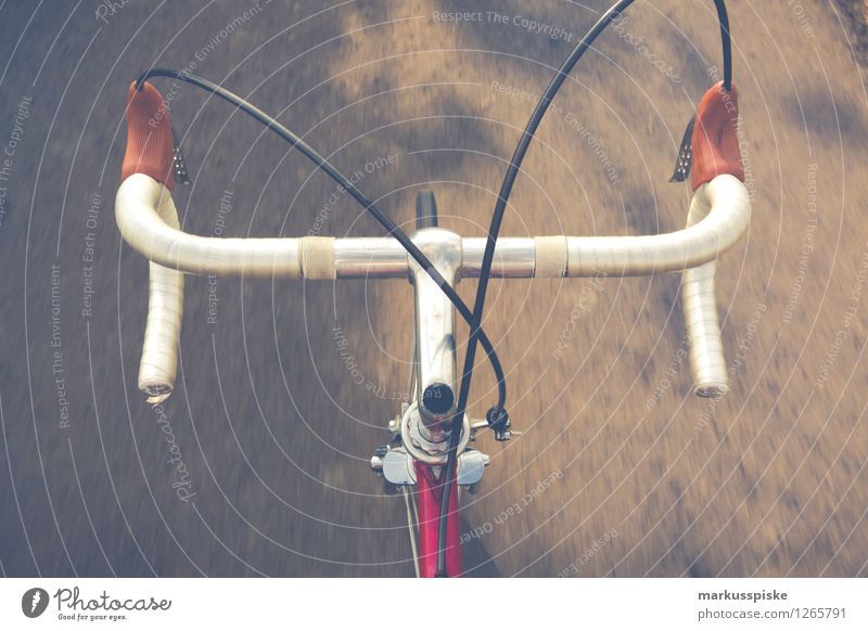 urban mobility - retro hipster racing bike Lifestyle Elegant Style Design Athletic Fitness Leisure and hobbies Cycling Bicycle Racing cycle Road traffic Street