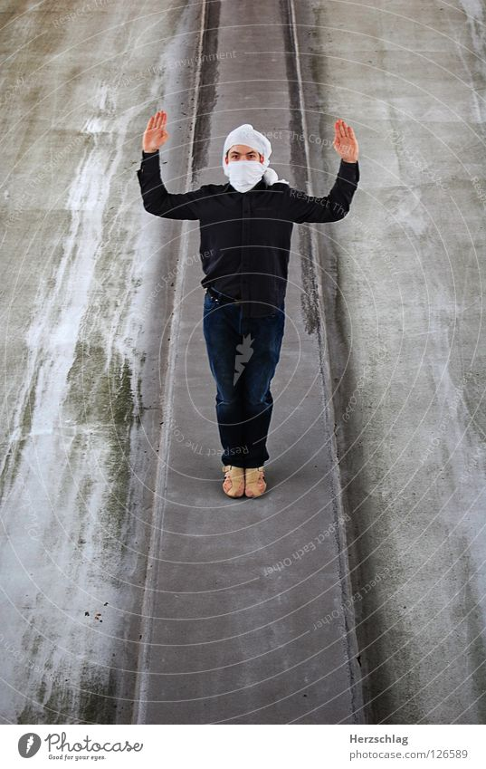 Man Hand Tall Crazy Stand Communicate Photo shoot Robbery Turban