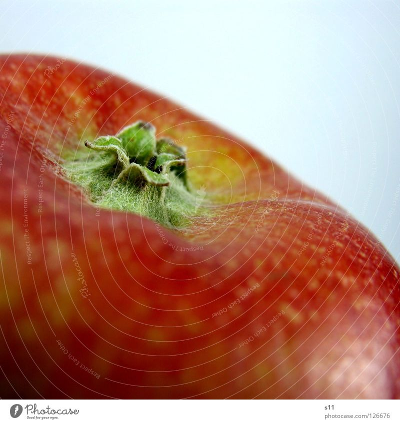 Nature Green Red Yellow Nutrition Healthy Fruit Skin Star (Symbol) Sweet Round Apple Anger Smoothness Juicy Vitamin