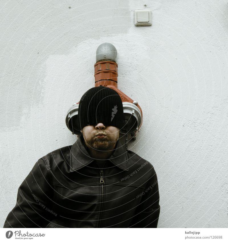 Human being Man Joy Head Design Beginning Lifestyle Bathroom Drinking Ear Pure Well Fluid Jacket Pipe Trashy