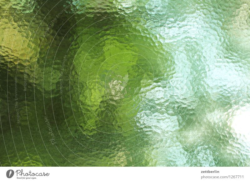 windows Window Glass Ribbed glass Frosted glass Blur Vantage point View from a window Abstract Background picture Pattern Watercolors Copy Space Summer Light