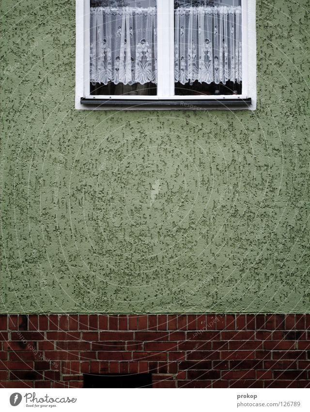 Never a crime scene Facade Window Curtain Brick House (Residential Structure) Boredom Average Living or residing Petit bourgeois Disgust Sleep Drowsy Neukölln