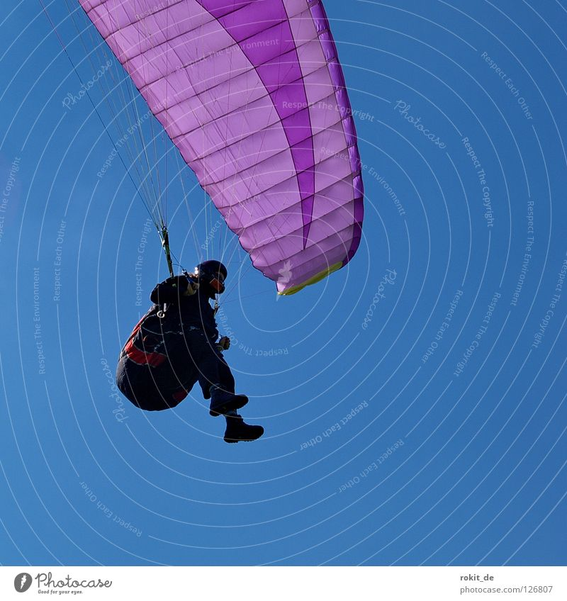 Freedom Feet Warmth Rope Aviation Violet To fall Umbrella Airplane landing Hover Mountaineering Helmet Gloves Paragliding Brakes