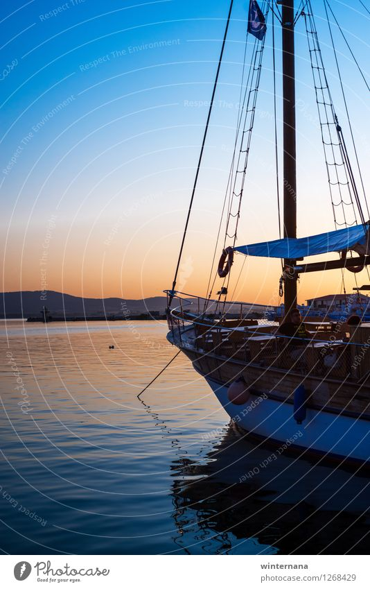 Raw, raw your boat Sky Summer Water Coast Horizon Elegant Uniqueness Adventure Rope Infinity Belief Bay Harbour Serene Cloudless sky End