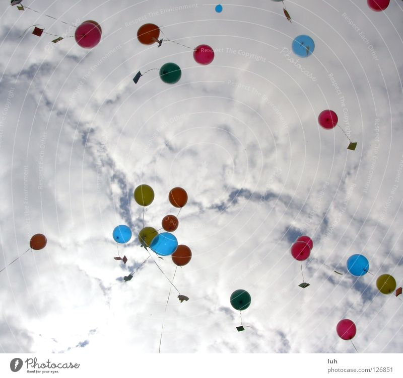 Hope the 2. Balloon Target Air Hover Beautiful Ascending Go up Desire Multicoloured Clouds Multiple Congratulations Easy Happiness Tall Purifying Sky heaven