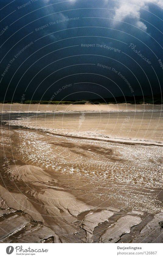 Sky Ocean Beach Clouds Sand Coast Earth Storm Scotland