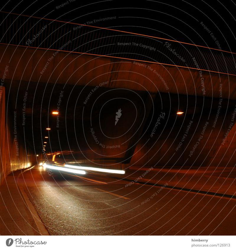 Street Movement Car Lighting Transport Speed Bridge Motor vehicle Dangerous Threat Tunnel Testing & Control Handrail Respect Street lighting Traverse