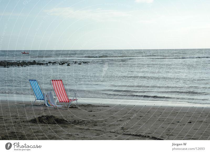 Water Ocean Beach Loneliness Waves Europe Chair Surf