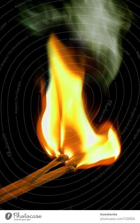 Bright Blaze Fire Hot Burn Flame Match Steam Ignite