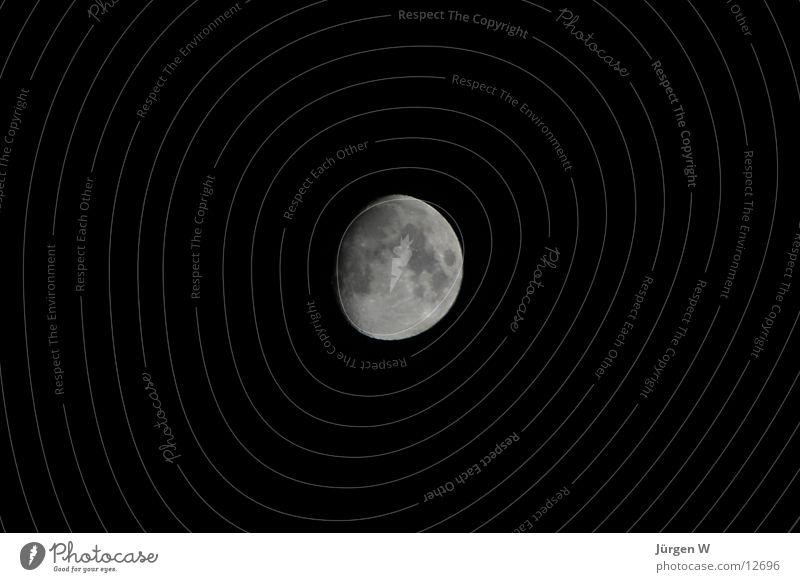Black Dark Moon Volcanic crater