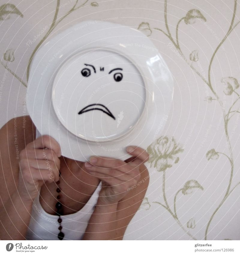 Woman Hand White Face Black Eyes Head Mouth Dangerous Anger Wallpaper Wrinkles Evil Aggravation Disappointment Forehead