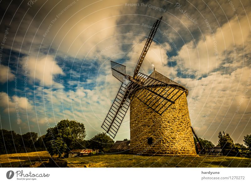 Sky Vacation & Travel Landscape Clouds Building Village Tourist Attraction Windmill