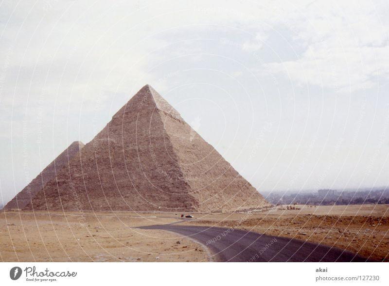 Landscape Art Desert Monument Historic Landmark Grave Ferry Warped Egypt Temple Pyramid Impressive Arts and crafts  Nile Giza