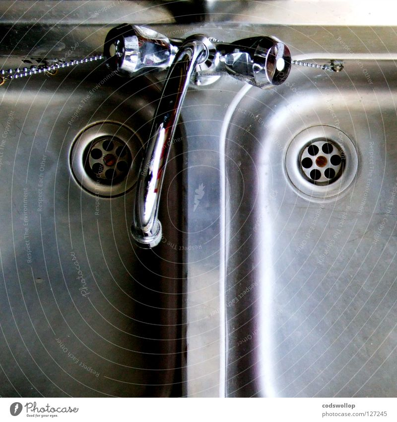 Kitchen Clean Double exposure Drainage Household Tap Kitchen sink Steel High-grade steel