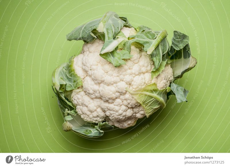 Cauliflower before green Food Vegetable Lunch Dinner Organic produce Vegetarian diet Diet Fasting Slow food Esthetic Healthy Eating White Cabbage Curls flaked