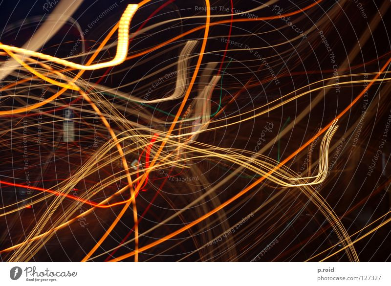 Yellow Dark Movement Waves Speed Dynamics Traffic infrastructure Curve Flexible Neon light Muddled Cut Intoxicant