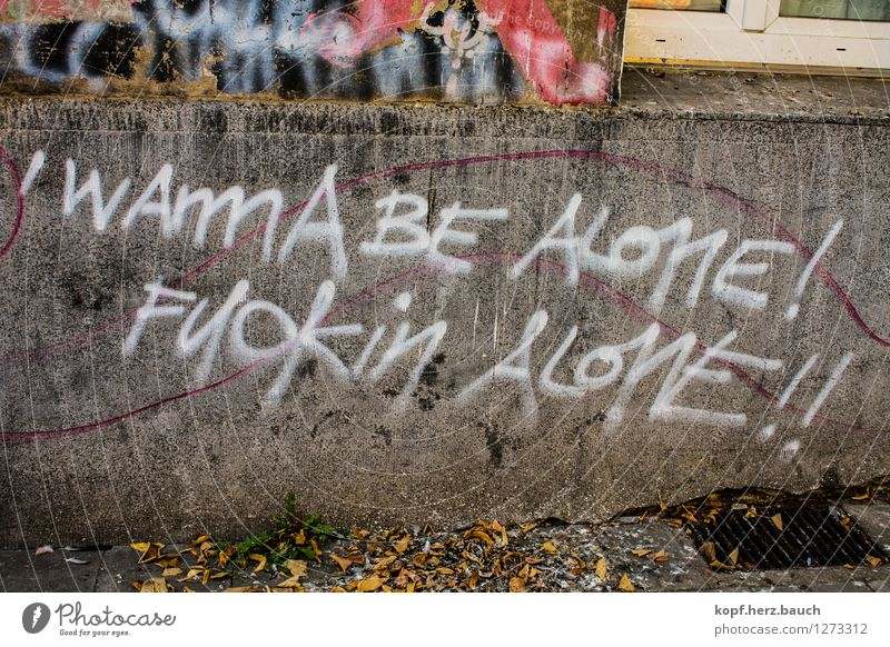 City Loneliness Wall (building) Sadness Graffiti Wall (barrier) Think Idyll Characters Communicate Grief Desire Write Anger Stress Argument