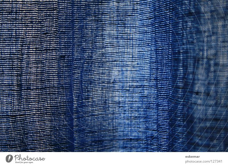 Wild silk blue Silk Cloth Curtain Textiles Abstract Background picture Structures and shapes Hang Drape Blue Material Living room Bedroom Smoothness