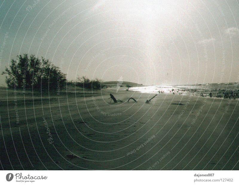 Equatorial Sunset Coast Brazil Ocean Still Life Badlands Calm Beach Sand north coast