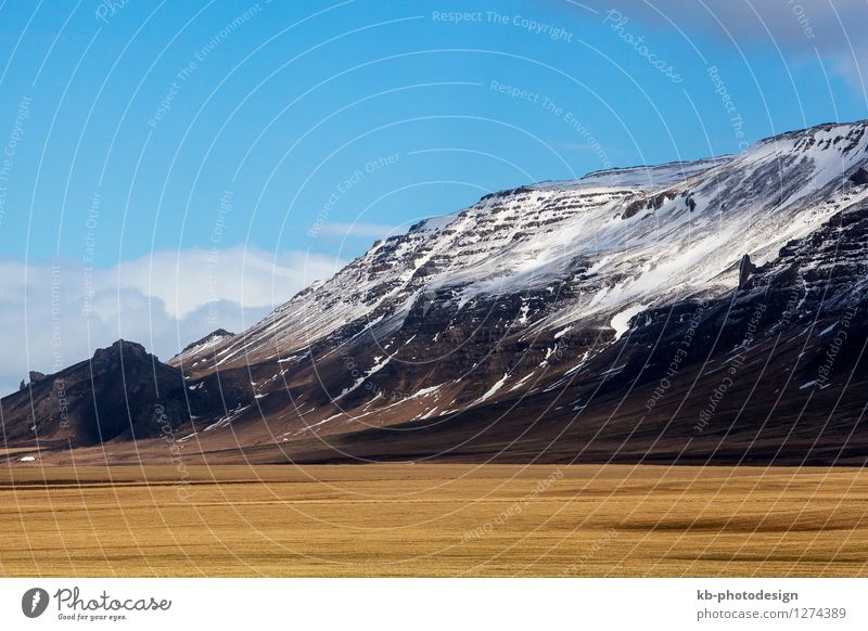 Vacation & Travel Landscape Mountain Spring Freedom Tourism Adventure Snowcapped peak Iceland Volcano Snæfellsnes