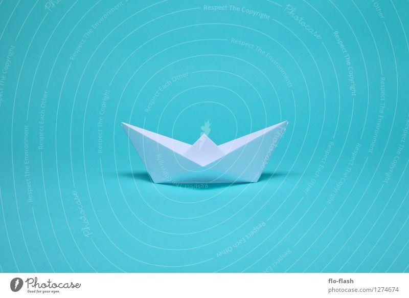 BEAUTIFUL WRINKLES // ORIGAMI Elegant Style Design Summer Summer vacation Sailing Captain Art Work of art Sculpture Navigation Boating trip Fishing boat