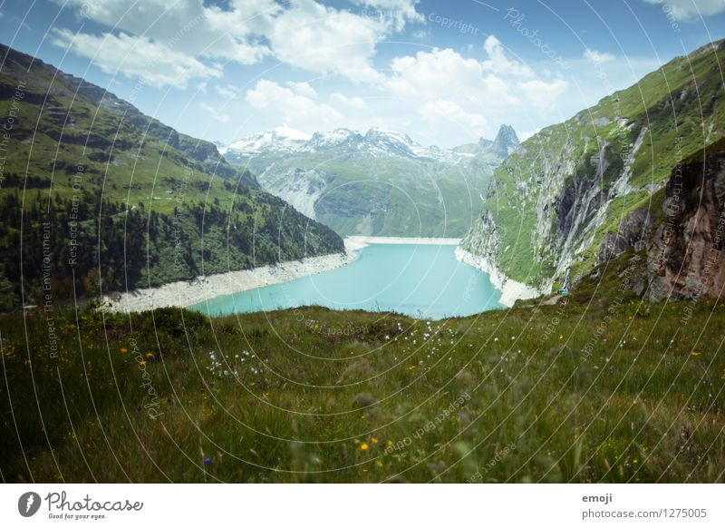 swissness Environment Nature Landscape Summer Meadow Hill Alps Mountain Lake Exceptional Natural Turquoise Reservoir glacial lake glacial water Switzerland