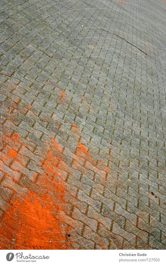Red Street Gray Stone Germany Crazy Tracks Traffic infrastructure Cobblestones Parking lot Tails Tennis Paving stone Ashes Minerals