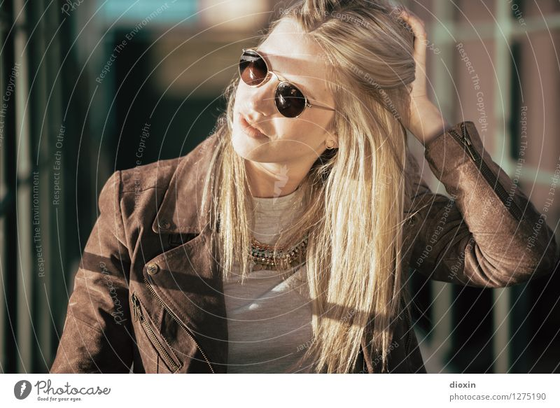 I see your hair is burnin´ Lifestyle Style Beautiful Hair and hairstyles Human being Feminine Young woman Youth (Young adults) Woman Adults 1 18 - 30 years