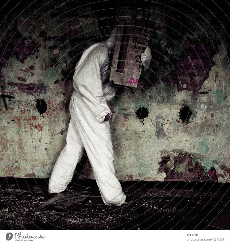 Human being Man Old Loneliness Wall (barrier) Fear Dirty Masculine Signs and labeling Derelict Guy Panic Anonymous
