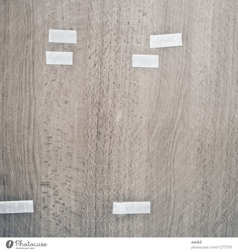 doctor's practice Door Wood Simple adhesive tape Wood grain Colour photo Subdued colour Interior shot Detail Abstract Pattern Structures and shapes Deserted