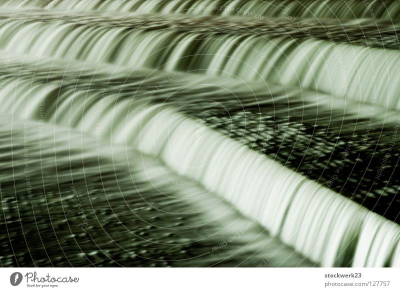 barrage stage II Waterfall Long exposure Architecture Winter River River Lech Barrage lechwehr caroline defense Sewer