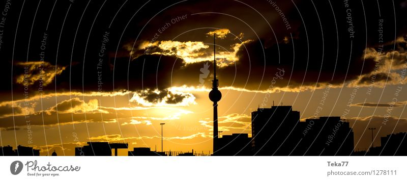 Vacation & Travel City Summer Berlin Esthetic Places Skyline Capital city Stress Downtown Television Air Traffic Control Tower