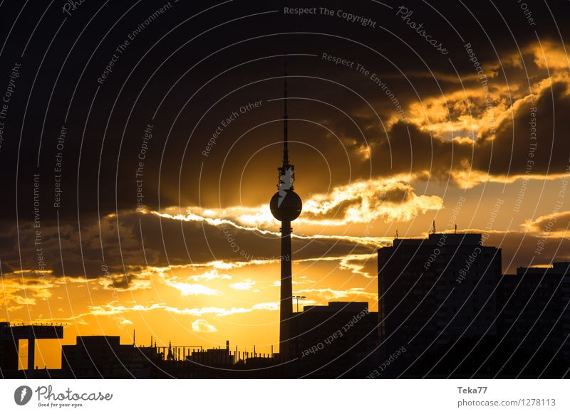 Vacation & Travel City Summer Berlin Esthetic Places Adventure Skyline Capital city Television Downtown Air Traffic Control Tower Alexanderplatz