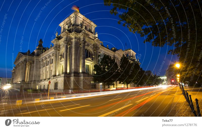 Bundestag IIII Vacation & Travel Human being Museum Town Capital city Dome Facade Reichstag Esthetic Might Colour photo Exterior shot Evening Twilight