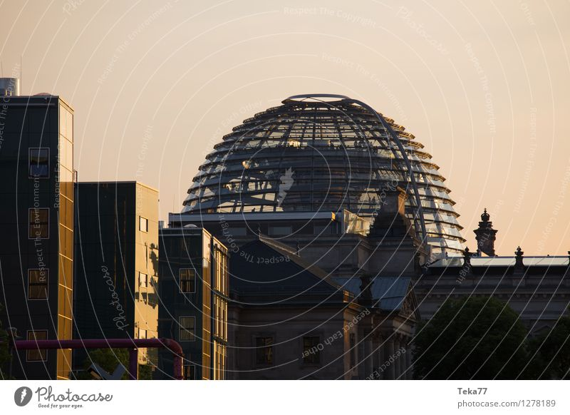 Government works II Vacation & Travel Human being Museum Berlin Town Dome Facade Reichstag Beginning Effort Colour photo Exterior shot