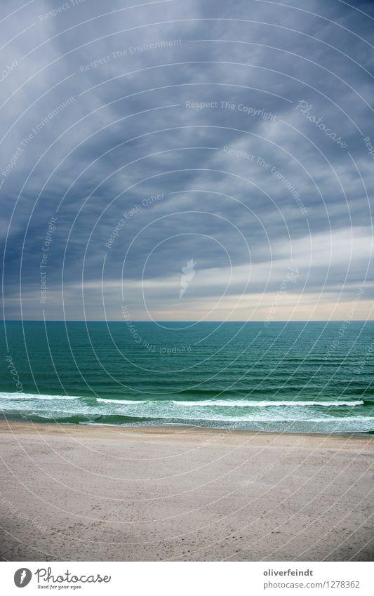 Sky Nature Ocean Landscape Clouds Calm Beach Far-off places Dark Environment Coast Freedom Horizon Rain Weather Waves