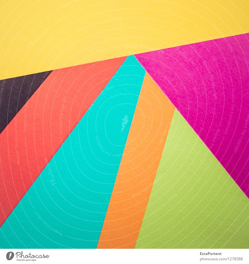 Blue Green Colour Red Black Yellow Style Background picture Line Orange Design Elegant Esthetic Stripe Illustration Violet