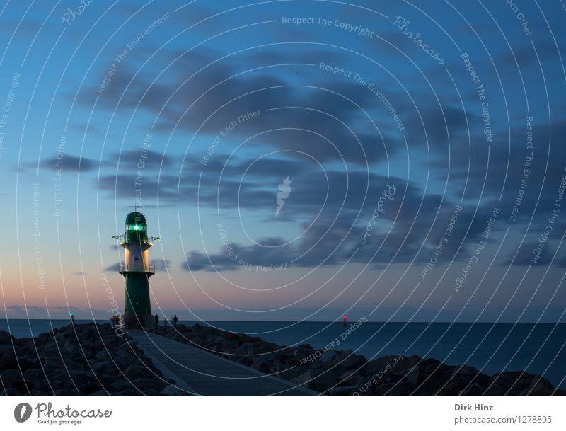 Lighthouse Warnemünde Sky Infinity Historic Tall Maritime Blue Trust Dependability Horizon Safety Tourism Tradition Survive Vacation & Travel