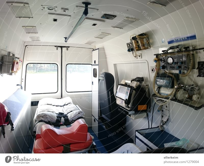 Ambulance Interior Professional training Internship Wooden spoon Senior citizen Doctor Workplace Hospital Rescue equipment Health care Business Company Team