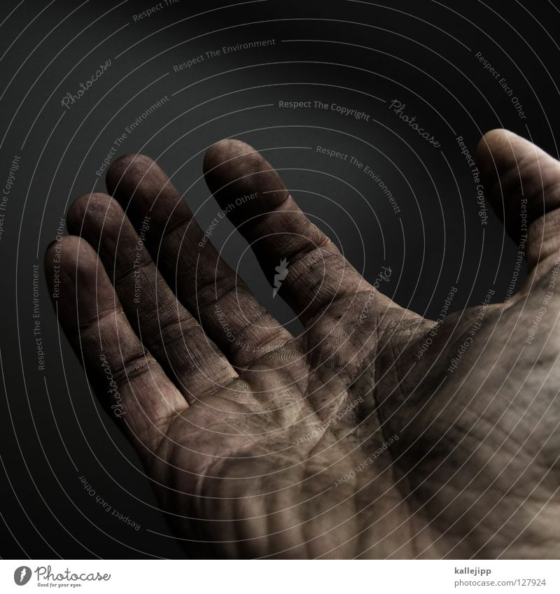 Poverty Dirty Empty Human being Hand Needy Section of image Partially visible Seeking help Compassion Charity Palm of the hand Beg Men`s hand Poverty threshold Slave labor