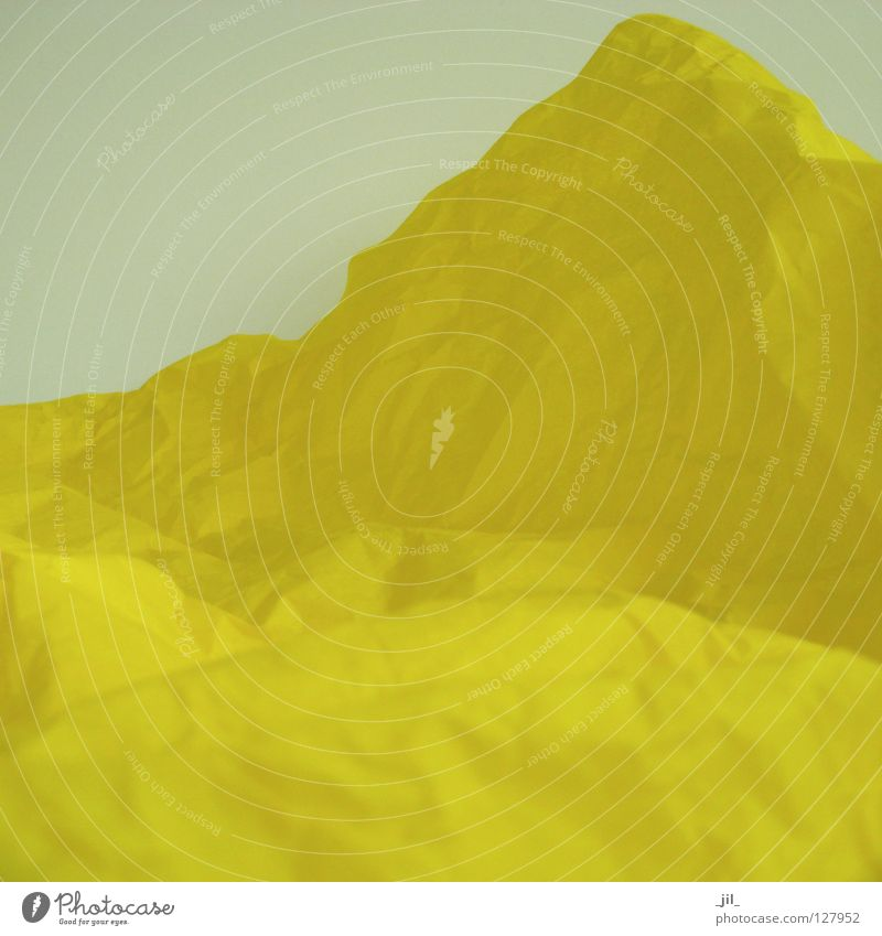 landscape 2 Thought Summer Longing Yellow Moody Anticipation Abstract Paper Tissue paper Joy Landscape head cinema stimulator muse Colour summer longing