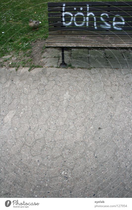 Old Colour White Loneliness Style Wood Garden Art Brown Germany Park Fear Dirty Characters Empty Concrete