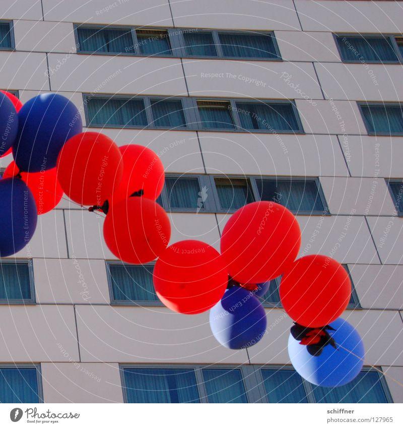 Blue Red Party Feasts & Celebrations Leisure and hobbies High-rise Round Balloon Sphere Prefab construction Cyan Light blue Freiburg im Breisgau