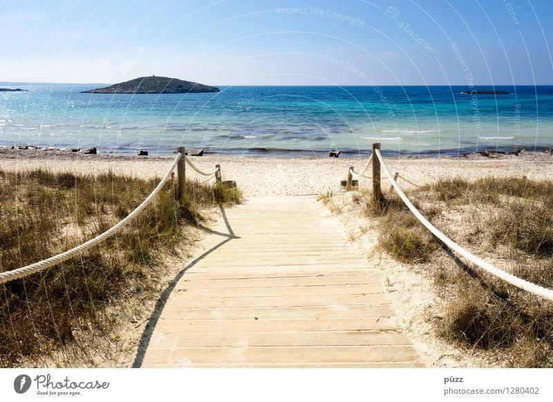 paradise Wellness Life Calm Meditation Vacation & Travel Tourism Summer Summer vacation Sun Sunbathing Beach Ocean Island Environment Nature Landscape Sky