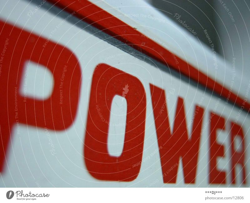 POWER Power Might Photographic technology punt Musculature