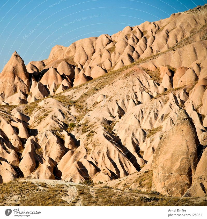 Nature Beautiful Sky Blue Summer Vacation & Travel Mountain Stone Landscape Art Rock Arrangement Tourism Asia Idyll Hill