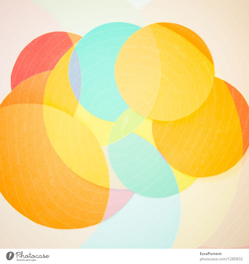 Blue Colour White Red Yellow Style Background picture Playing Line Bright Design Orange Fresh Elegant Happiness Esthetic
